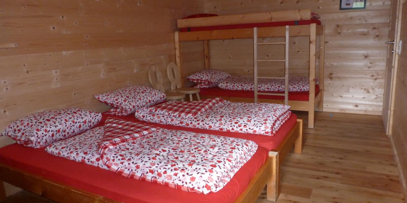 Binsalm Karwendelgebirge Doppelzimmer