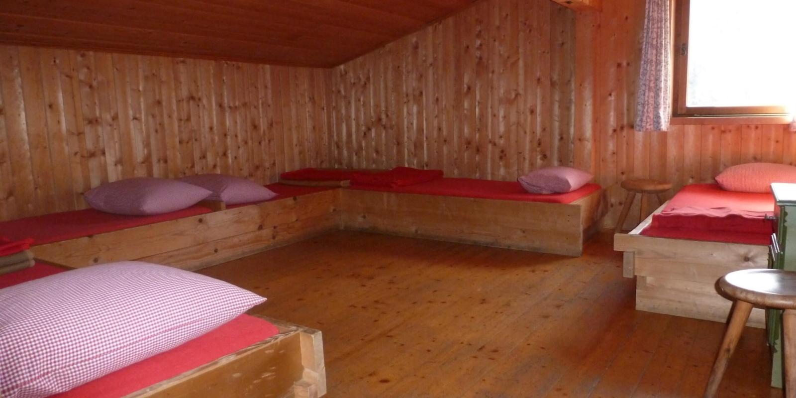 Binsalm Karwendelgebirge Zimmer