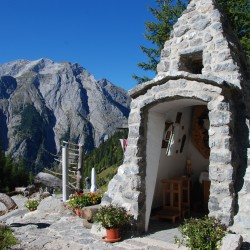 Kapelle Binsalm Karwendel