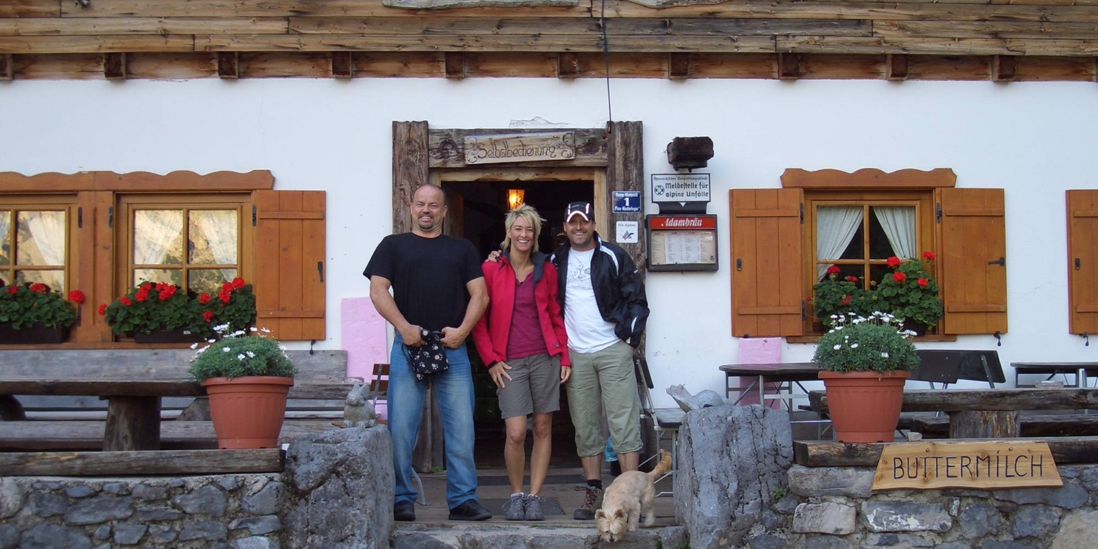 Schutzhütte Binsalm Karwendelgebirge