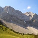 Aussicht Binsalm Karwendel