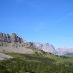 Panoramerbild bei Wanderung von der Binsalm aus