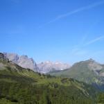 Panoramerblick von der Binsalm aus