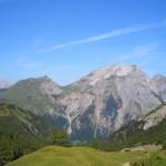 Panoramerblick Binsalm Karwendel