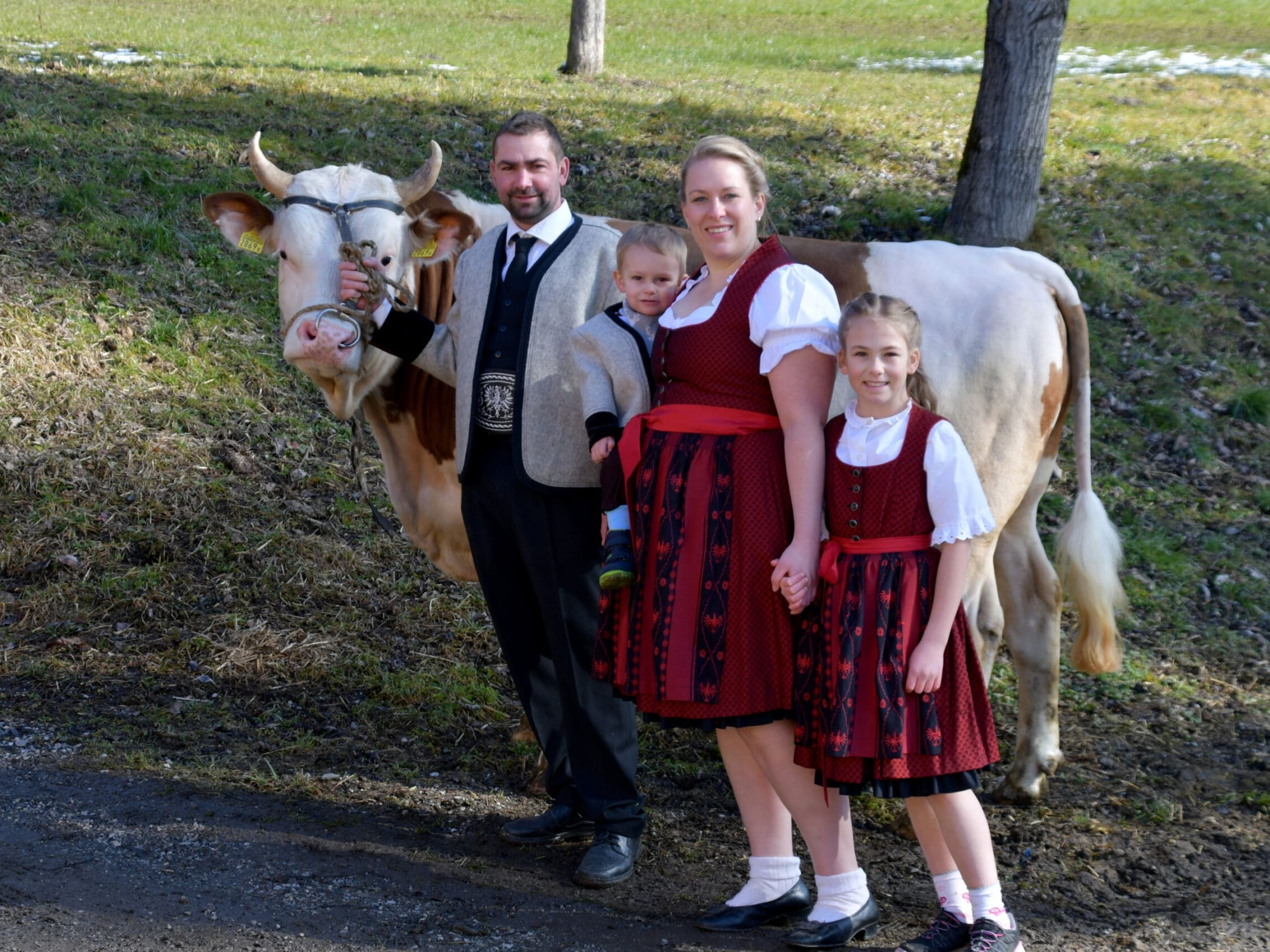 Familie Larcher Binsalm